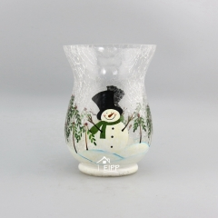 Votive Hurricane Crackle Candle Holder