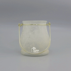 Glass Hurricane Candle tea light holder