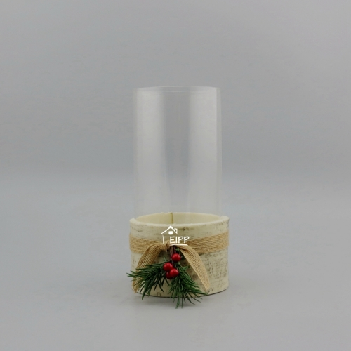 Wholesale Big Size Clear Cylinder Glass Vase For Home Decoration